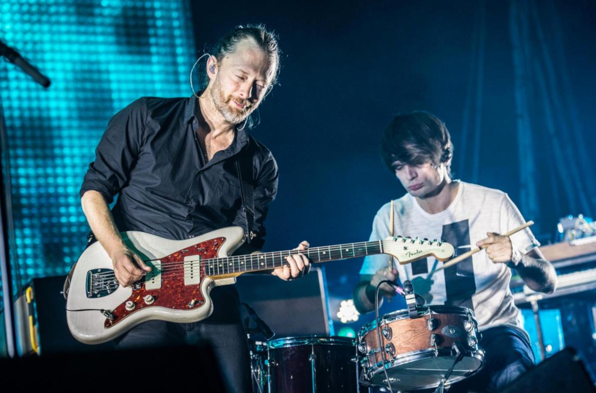 Radiohead (Credit David Yorke)
