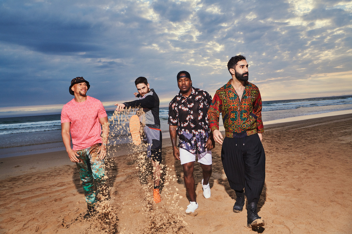 Rudimental (Credit Dean Chalkley)