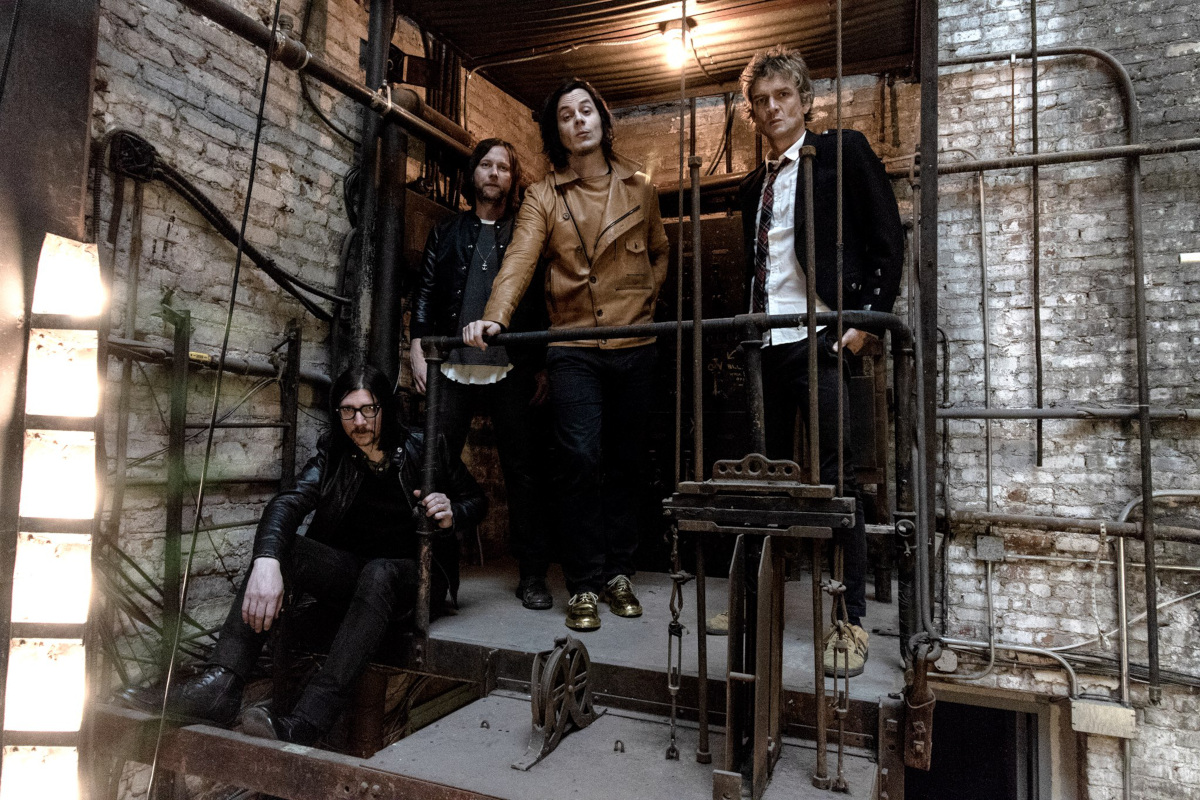 The Raconteurs (Credit Third Man Records)