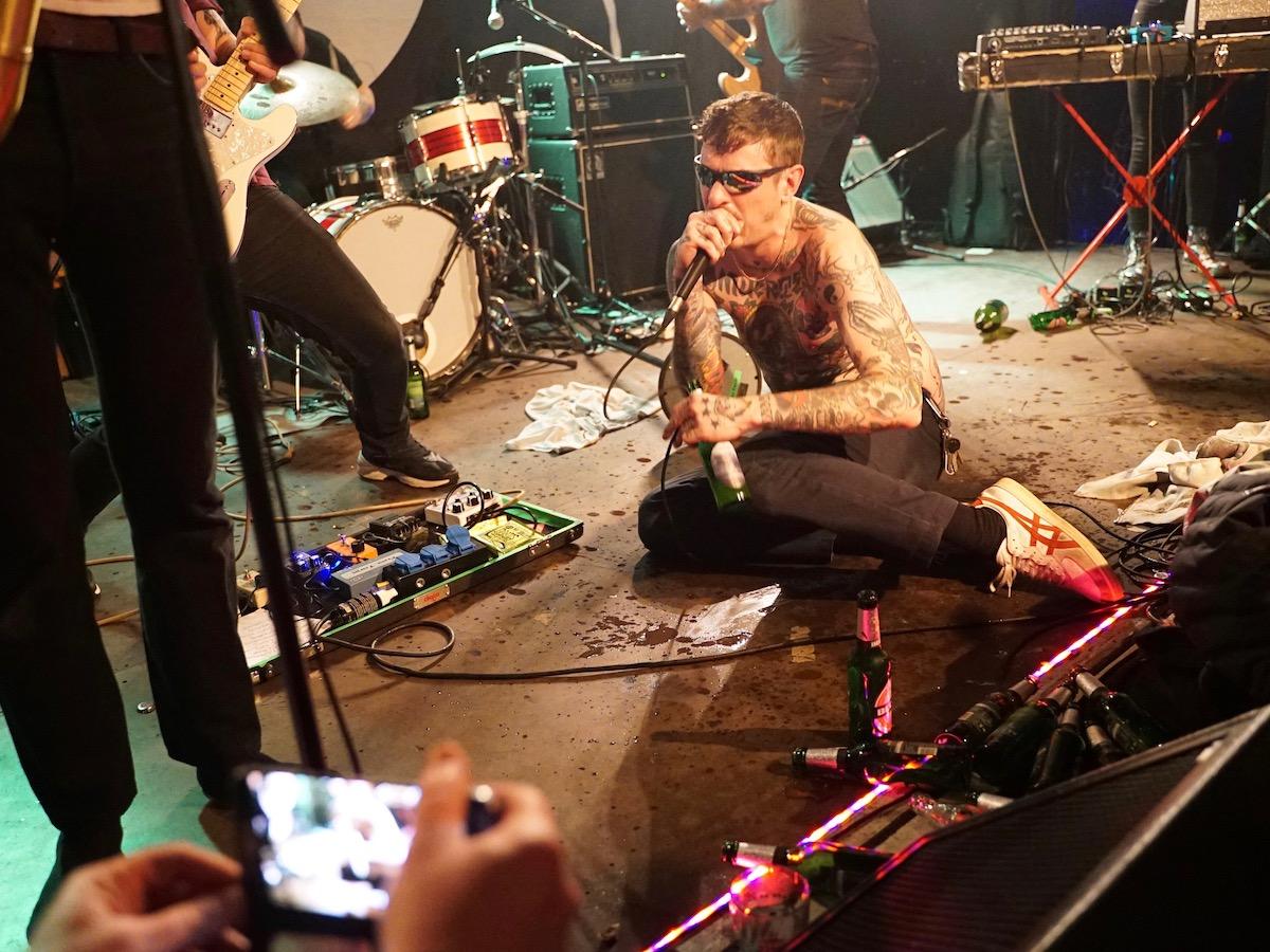 Viagra Boys (Credit Birgit Martin/MusikBlog)