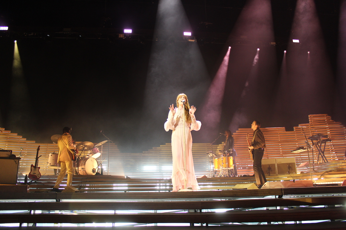 Florence + The Machine (Credit Katharina Raskob/MusikBlog)