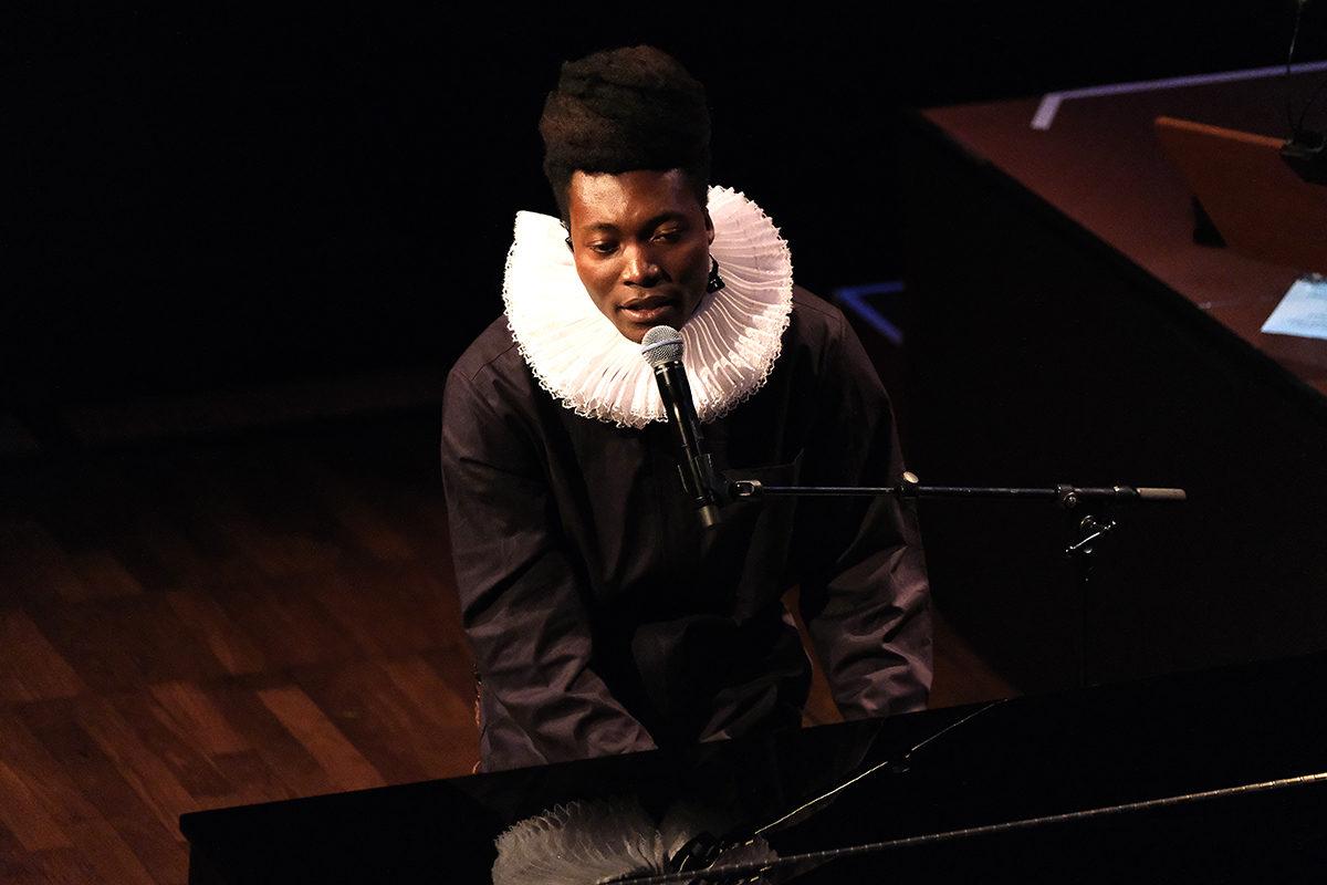 Benjamin Clementine (Credit Daniel Thomas/MusikBlog)