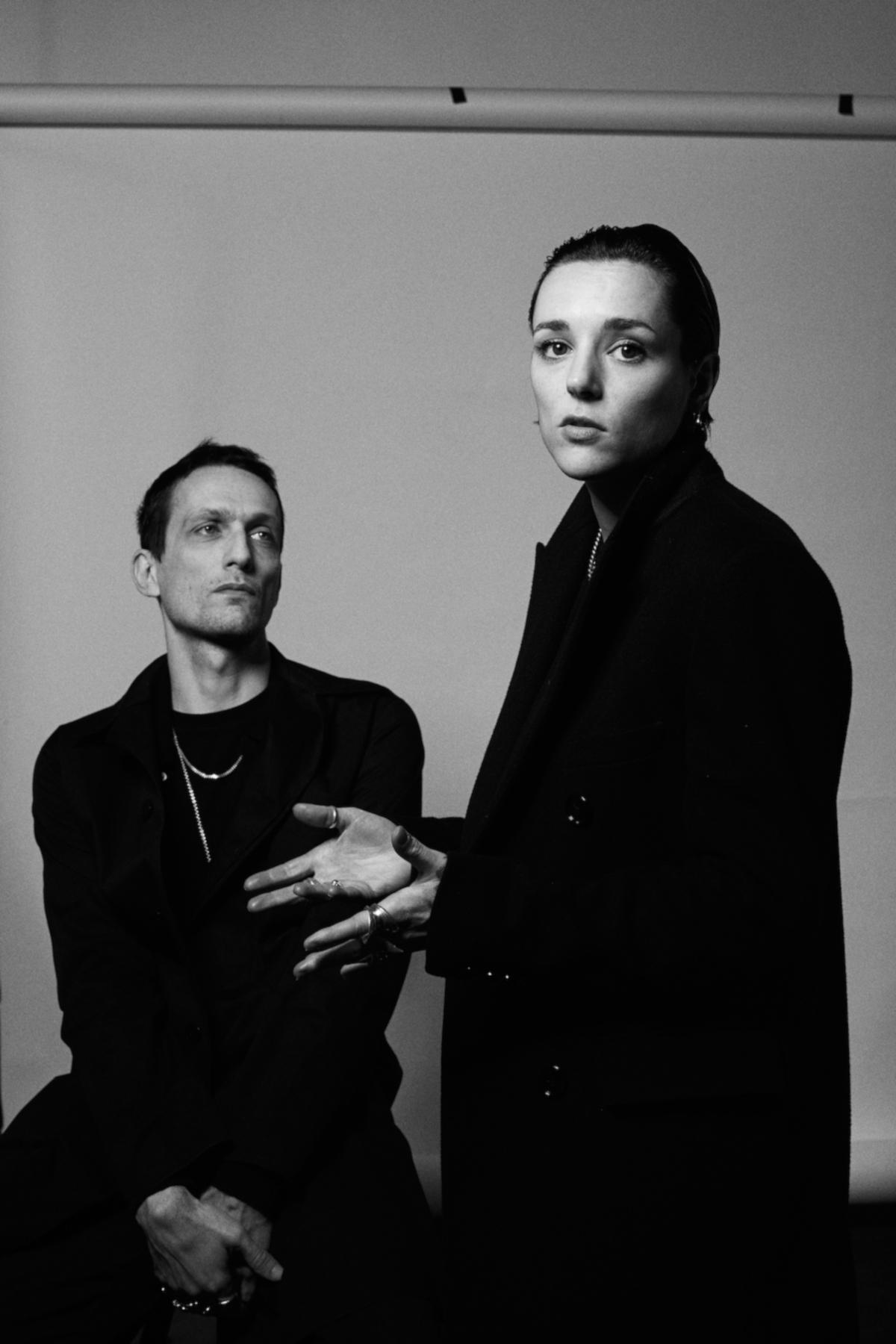 Jehnny Beth & Johnny Hostile (Credit Xavier Arias)