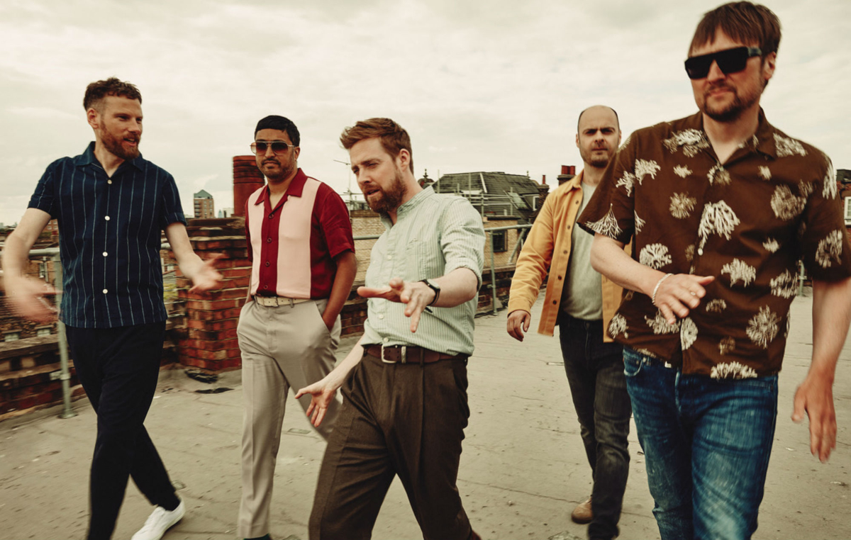 Kaiser Chiefs (Credit Edward Cooke)