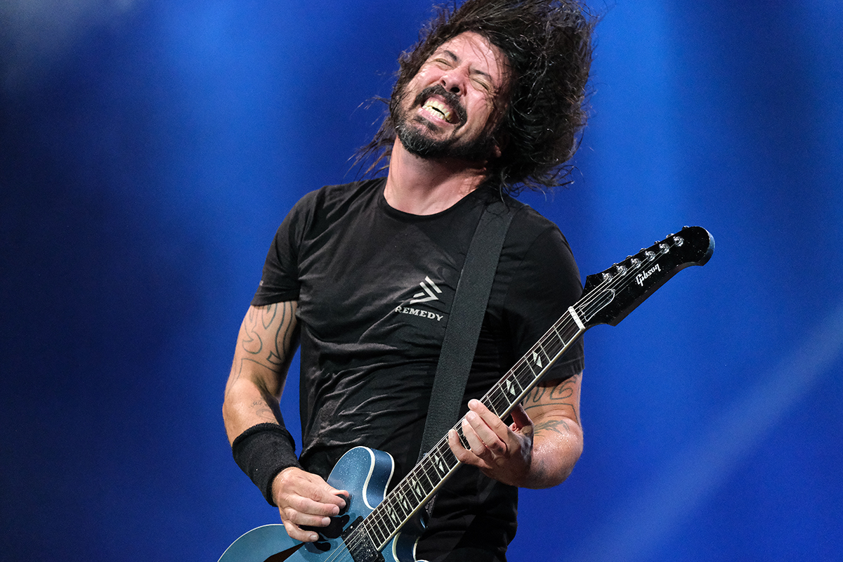 Foo Fighters (Credit Daniel Thomas/MusikBlog)