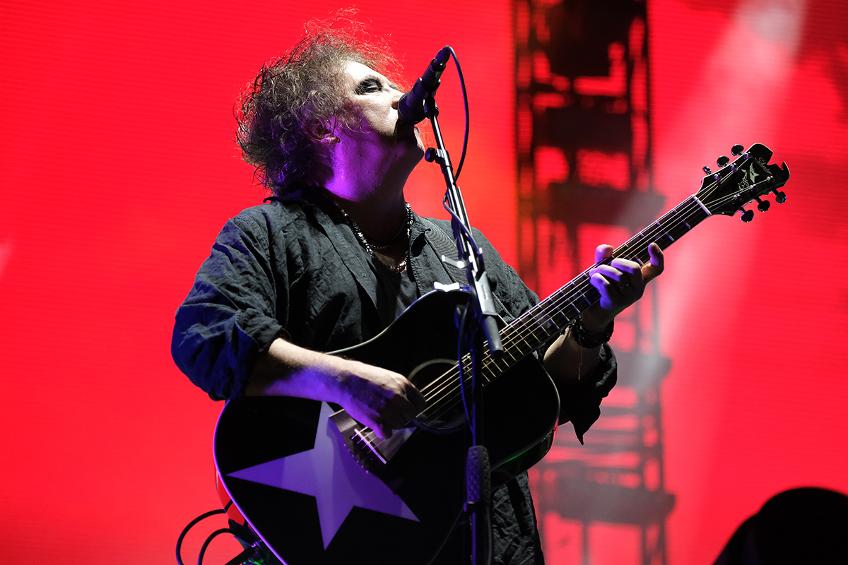 The Cure (Credit Daniel Thomas/MusikBlog)