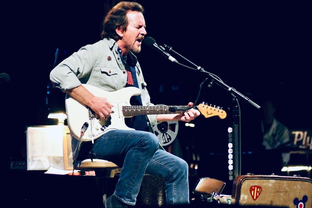 Eddie Vedder (Credit Shadi Heinrich/MusikBlog)