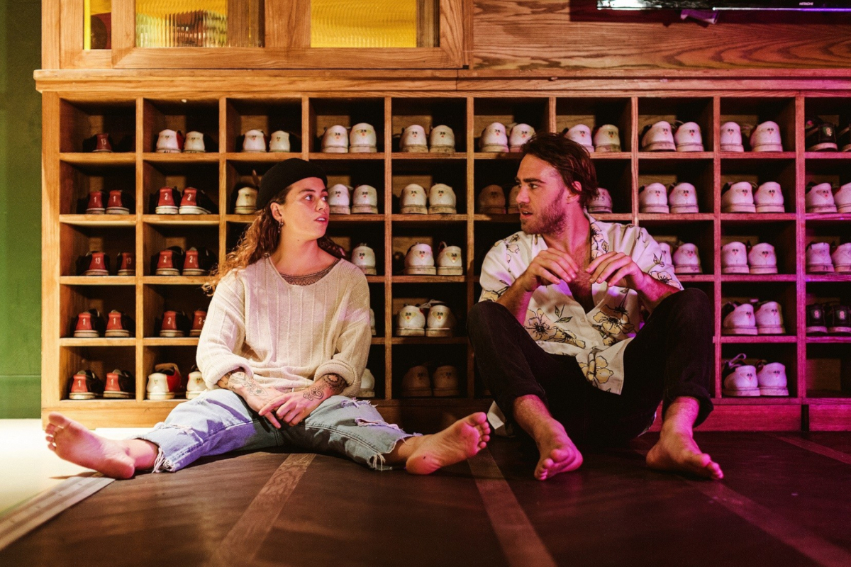 Tash Sultana & Matt Corby (Credit Dara Munni)