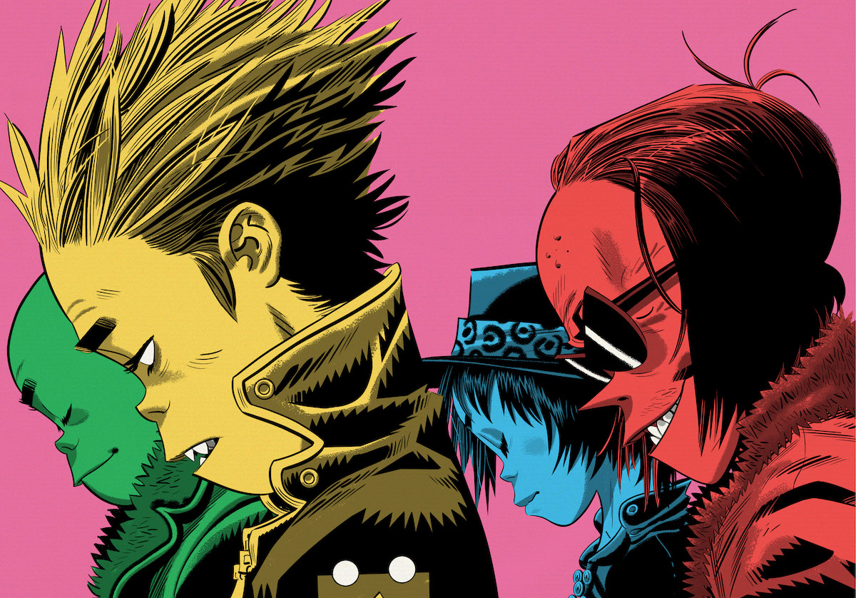 Gorillaz (Credit Warner Music)