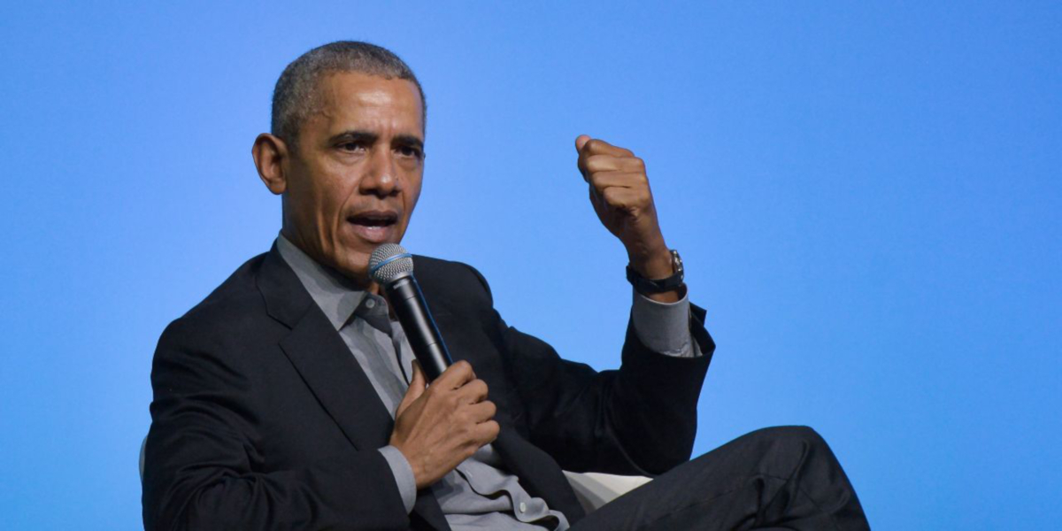 Barack Obama (Credit Zahim Mohd)