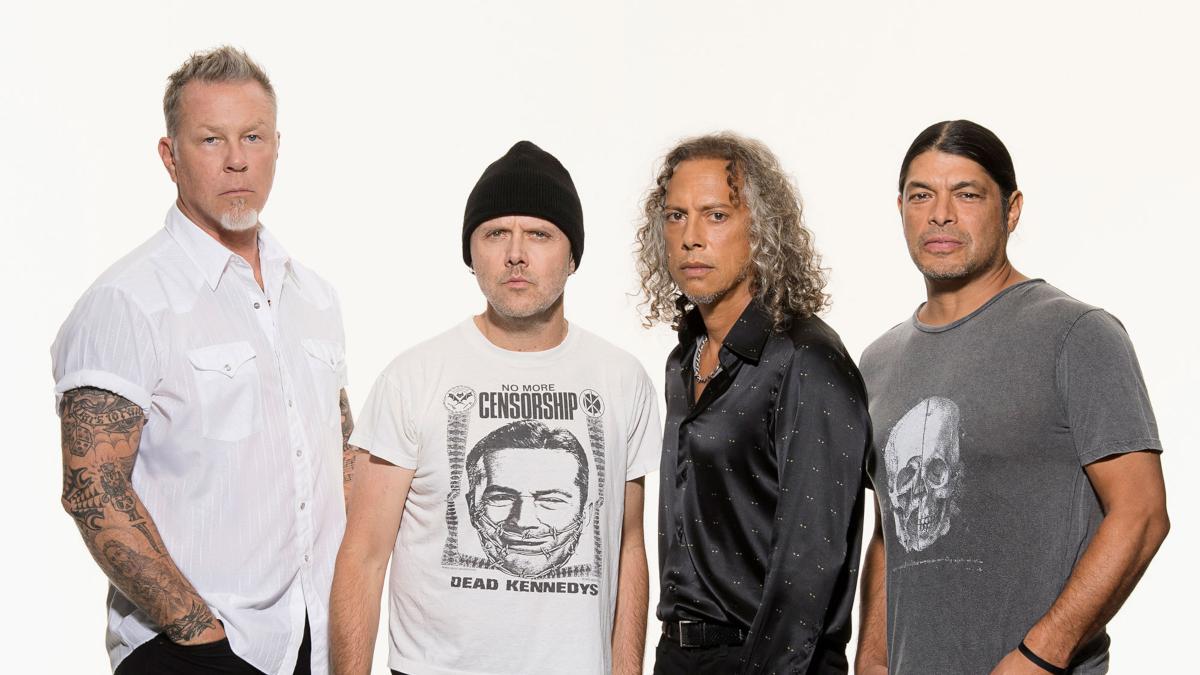 Metallica (Credit Ross Halfin)