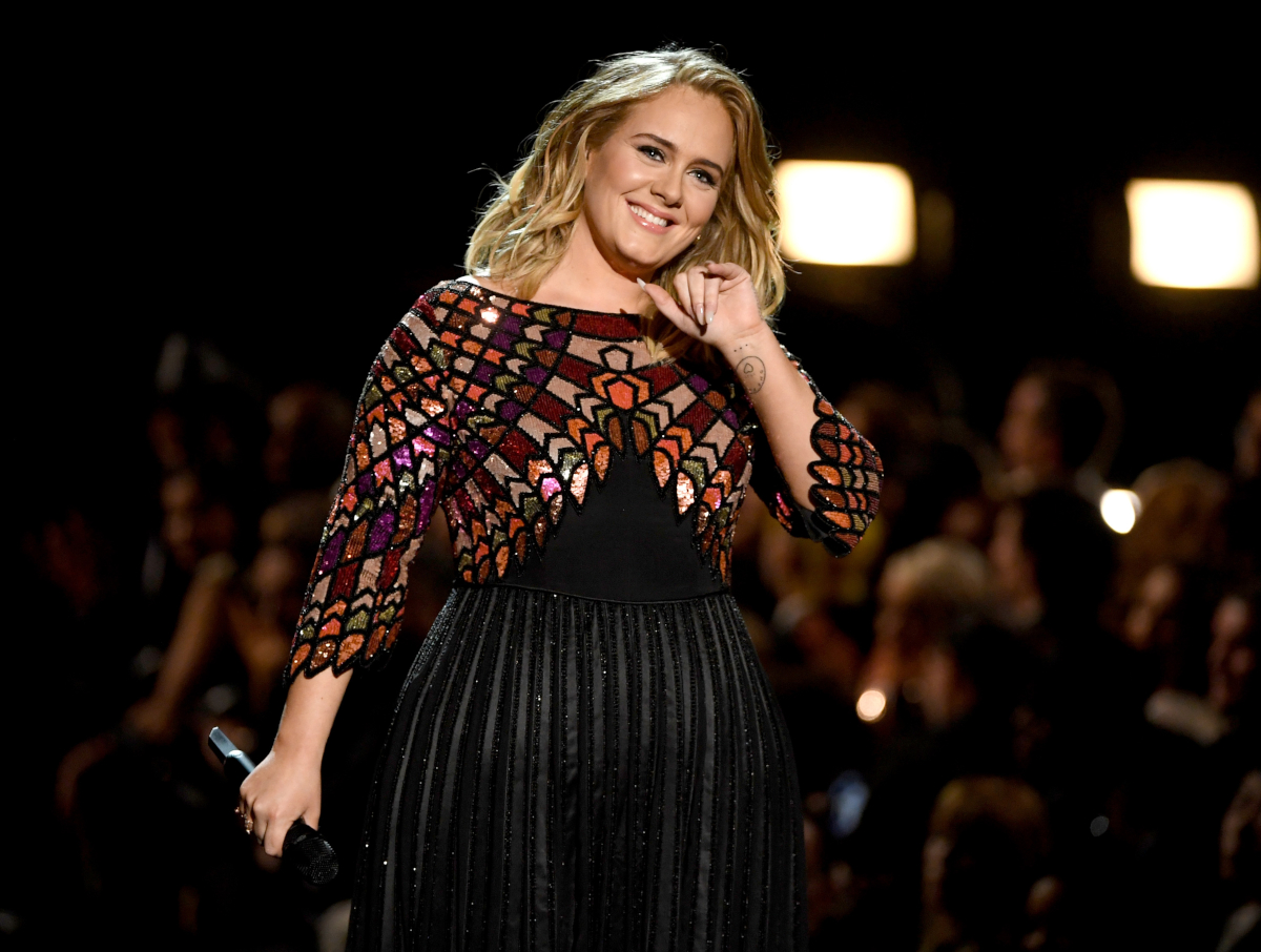 Adele (Credit Kevin Winter/Getty Images)