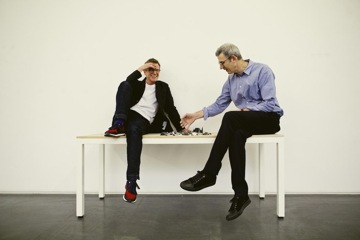 Simon Fisher Turner & Edmund De Waal (Credit Neil Thomson)