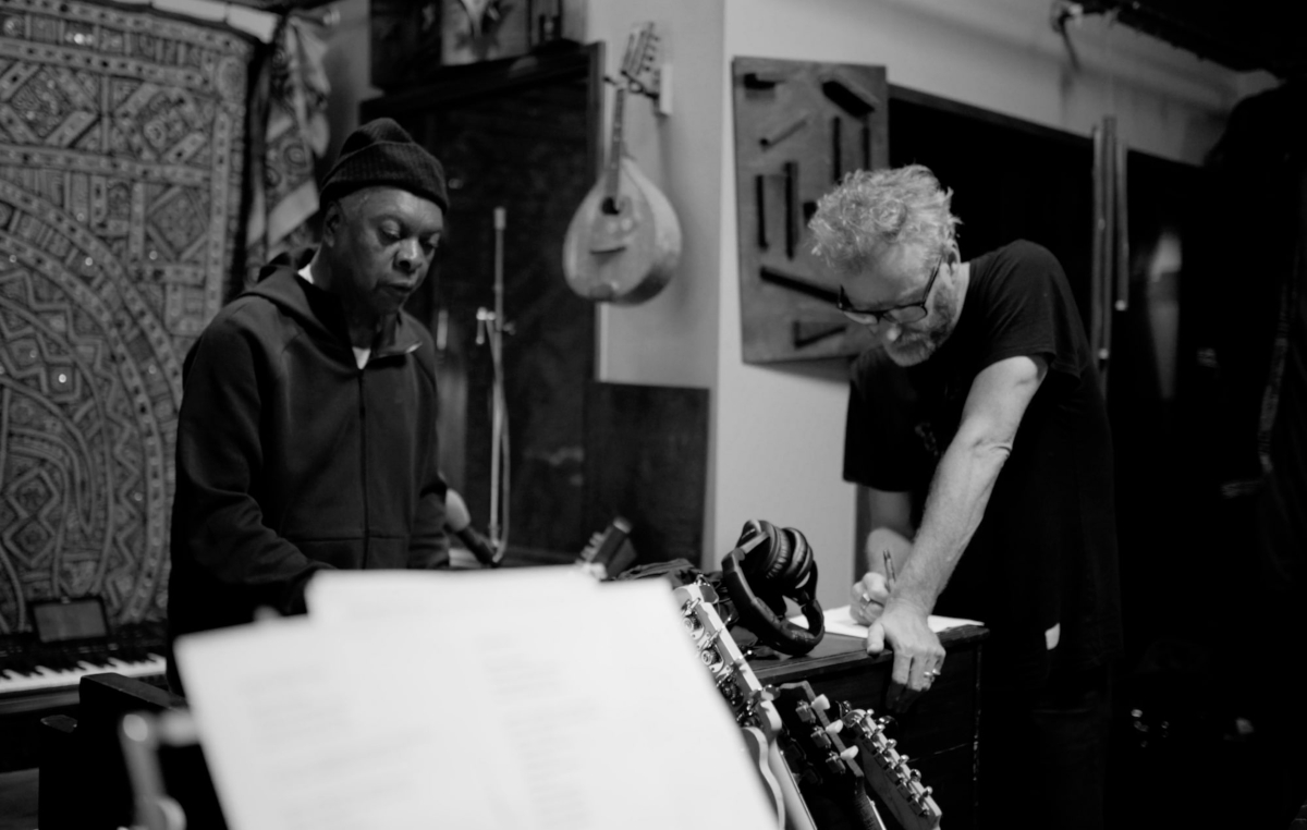 Matt Berninger & Booker T. (Credit Chris Sgroi)