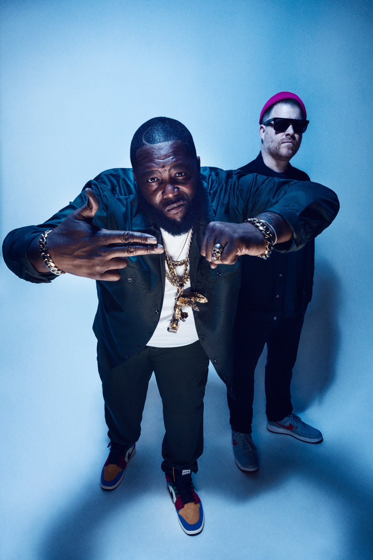 Run The Jewels (Credit Timothy Saccenti)