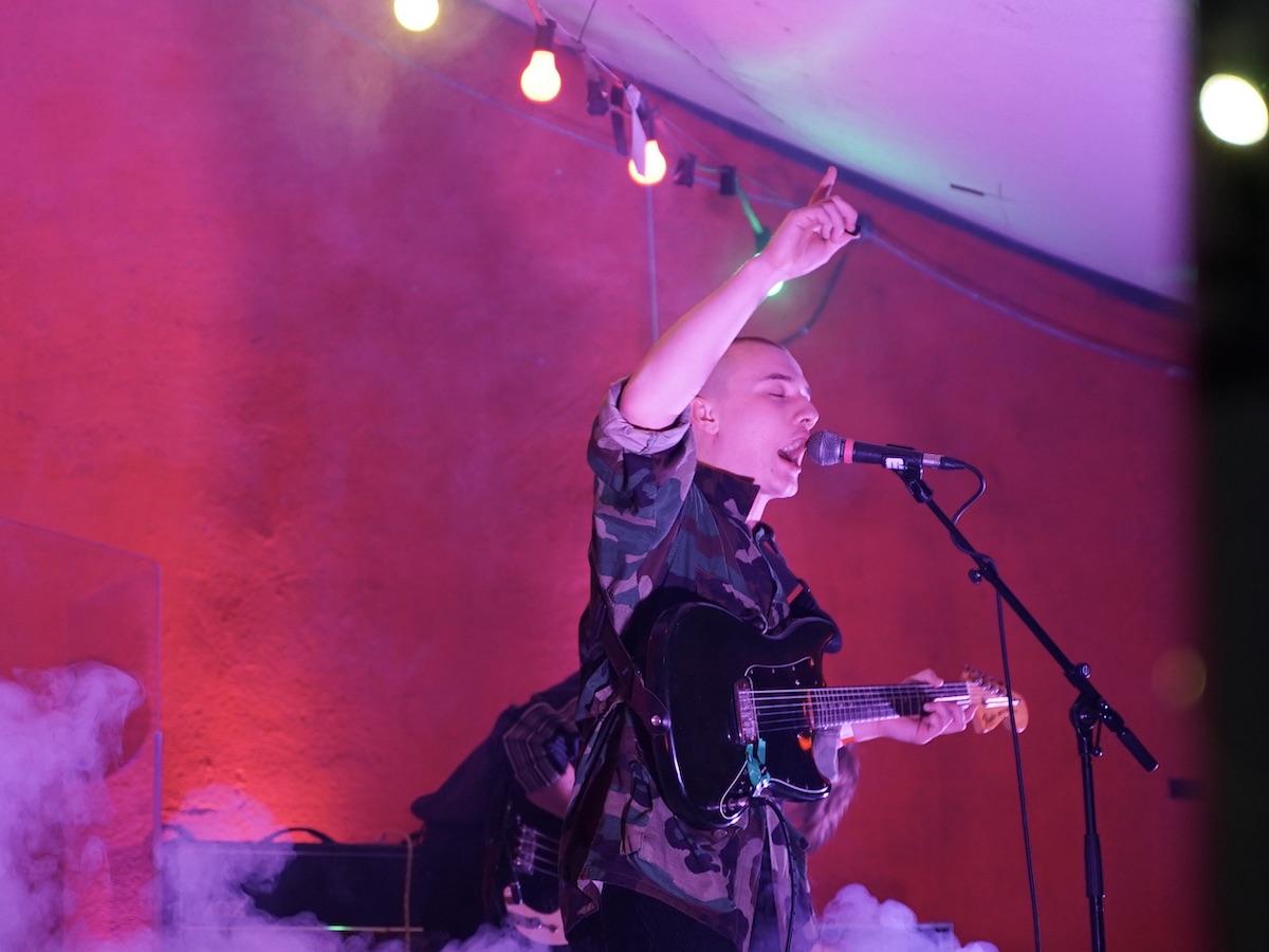 Talk Show (Credit Birgit Martin/MusikBlog)