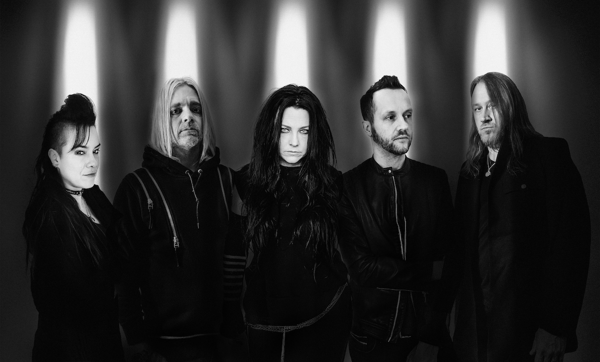 Evanescence (Credit Nick Fancher)